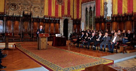 Guillem Correa durante su intervención en el acto